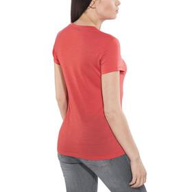 super.natural Essential I.D. Tee Women Clove Red/Print